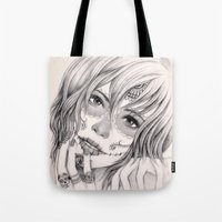 Sugar Skull Girl 2 Tote Bag