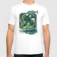 Fish Out of Water Mens Fitted Tee White SMALL