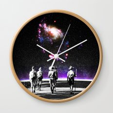 Explore The Unknown Wall Clock