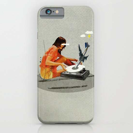 Blind, deaf too | Collage iPhone & iPod Case