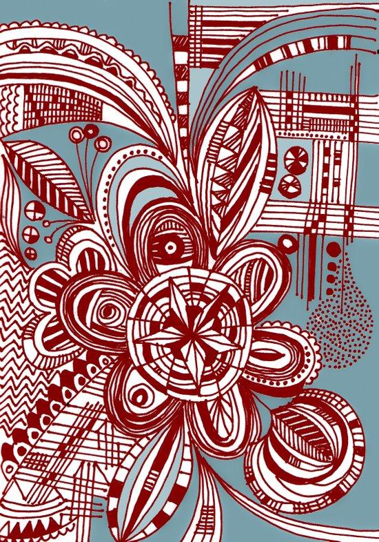 untitled doodle 1 Art Print
