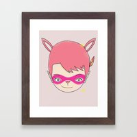 HELLO - EP001 PHANTOM THIEF [괴도] 怪盜 Framed Art Print
