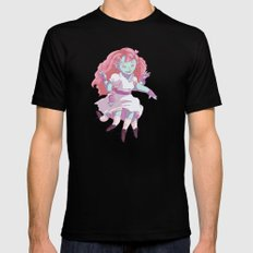 Octo Girl  Mens Fitted Tee Black SMALL