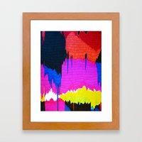 Glitch 2 Framed Art Print