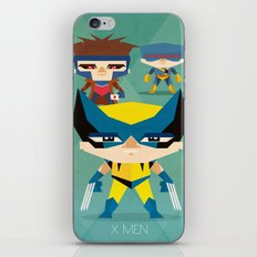 X Men fan art iPhone & iPod Skin