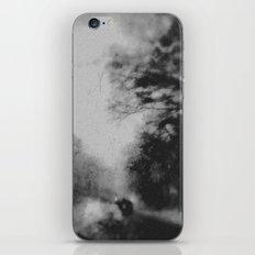 Winter road iPhone & iPod Skin