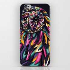 Geometric owl iPhone & iPod Skin