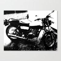 My 2013 Suzuki Tu250 Canvas Print
