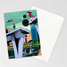 During his absence Stationery Cards