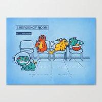 Emergency Room Canvas Print