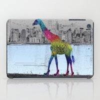 elegant giraffe iPad Case