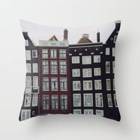 Amsterdam II Throw Pillow