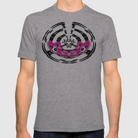 DJ Warped  Mens Fitted Tee Athletic Grey SMALL