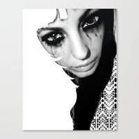 Crazy Eyez Canvas Print