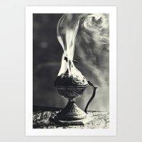 Ritual, B&W Version Art Print