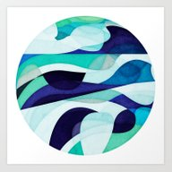 Bottomless Ocean Art Print
