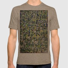 GLYPHS OF XANADU6 Mens Fitted Tee Tri-Coffee SMALL