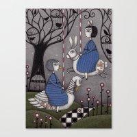 Merry-go-round  Canvas Print