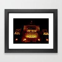 Night Crest 1 Framed Art Print