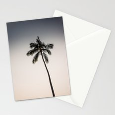palm tree ver.charcoal Stationery Cards