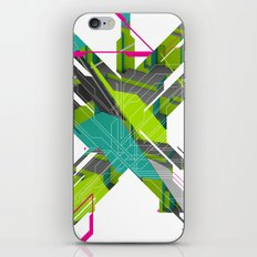 Abstract Green iPhone & iPod Skin