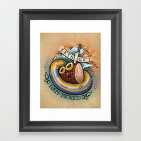 Let's Get Ham-mered! Framed Art Print
