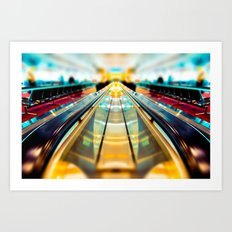Let's Ride The Conveyor Belt To Candyland Art Print