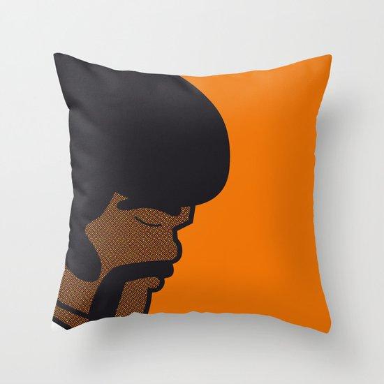 Pop Icon - Jules Throw Pillow
