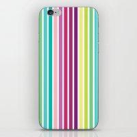 Summer Stripes iPhone & iPod Skin