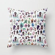 Cute Steven Universe Doodle Throw Pillow
