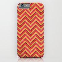 Chevron - Blue Orange Red iPhone 6 Slim Case