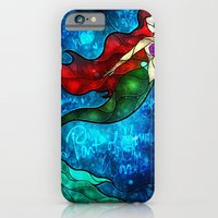 iPhone & iPod Case featuring The Mermaids Song by Mandie Manzano