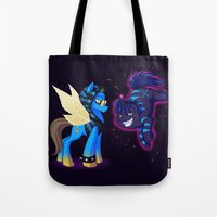 Mad T Ponies 'Absolem and Chesshur' Tote Bag
