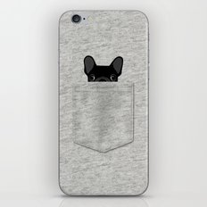 Pocket French Bulldog - … iPhone & iPod Skin