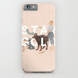 iPhone & iPod Case - Stay Gold - Heather Landis