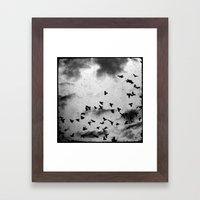 Doomsday - Through The V… Framed Art Print