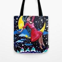 Selene's Moon Day Dreamzzz Tote Bag
