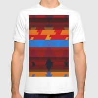 Autumn Colors Mens Fitted Tee White SMALL