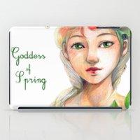 Goddess of  Spring iPad Case