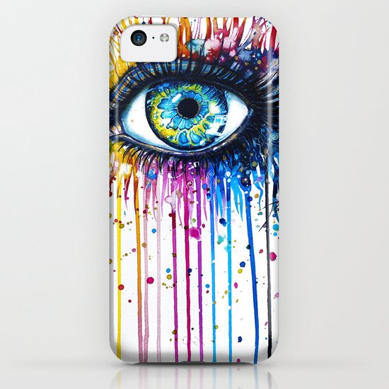"""Rainbow Eye"" iPhone & iPod Case"