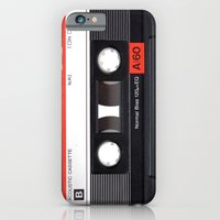 iPhone & iPod Case featuring Old School Tape by Ewan Arnolda