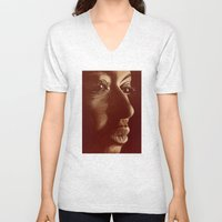 mama africa- brown Unisex V-Neck