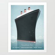 Vintage Travel Poster - … Art Print