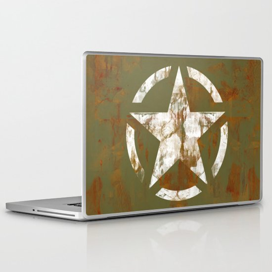 Distressed Star Laptop & iPad Skin