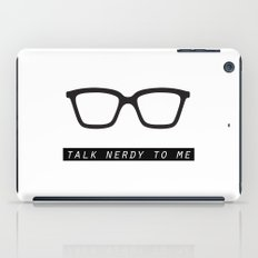 Talk nerdy to me.  iPad Case