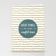 Comfort Zones Quote Stationery Cards