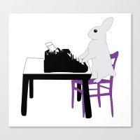 A Bunny's Life  Canvas Print