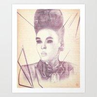 Shattering The Mold - Janelle Monae Art Print