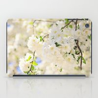 Delicate White Cherry Bl… iPad Case