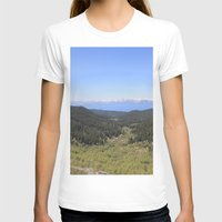 North Canyon Road Womens Fitted Tee White SMALL